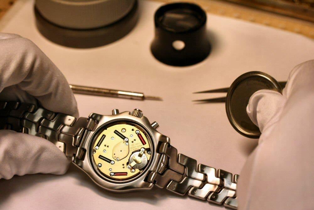 Сколько стоит починить часы swatch