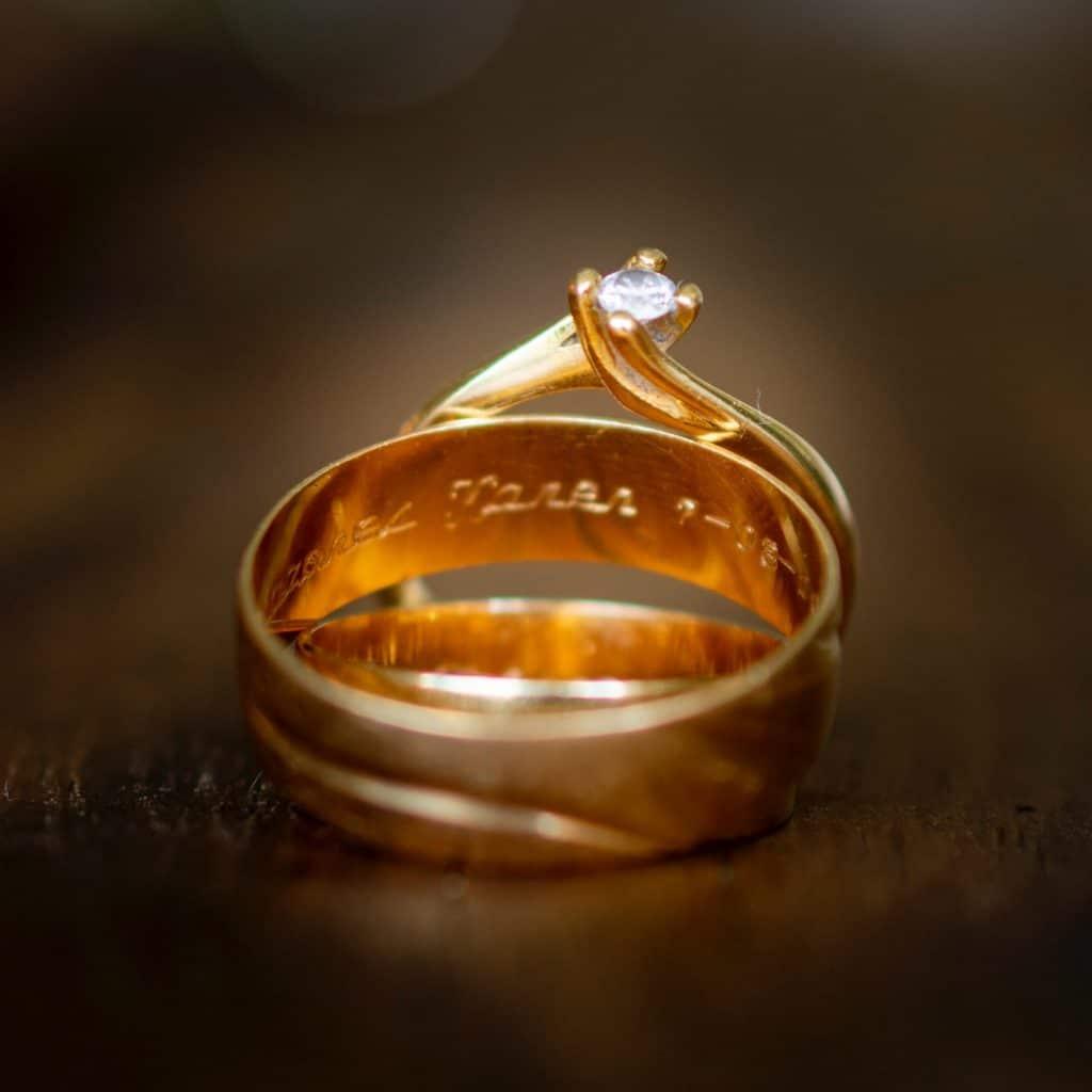 Gold ring restorations