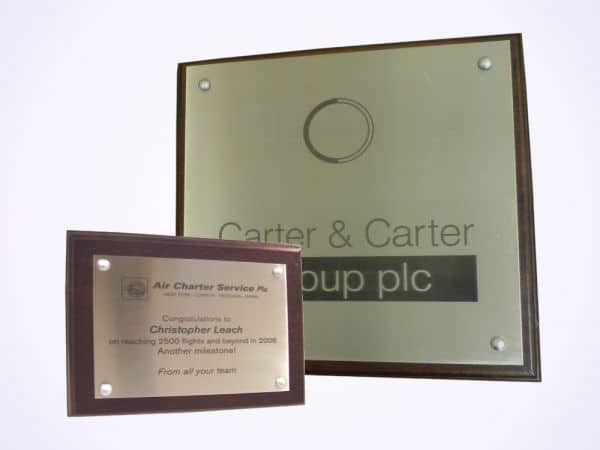 quality nameplate engravings