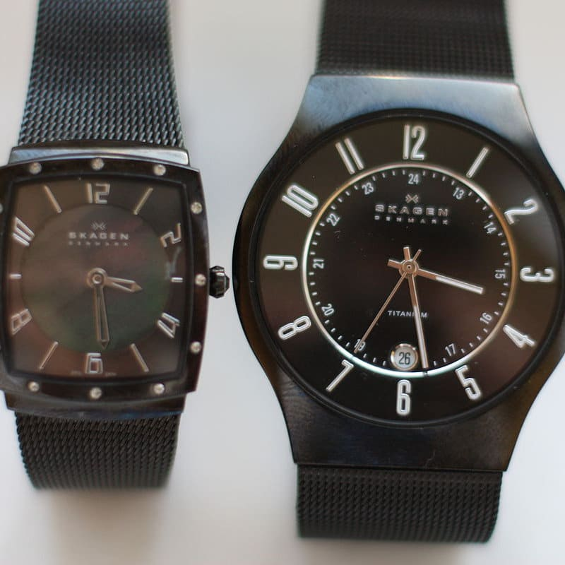 Replacement batteries for Skagen watches