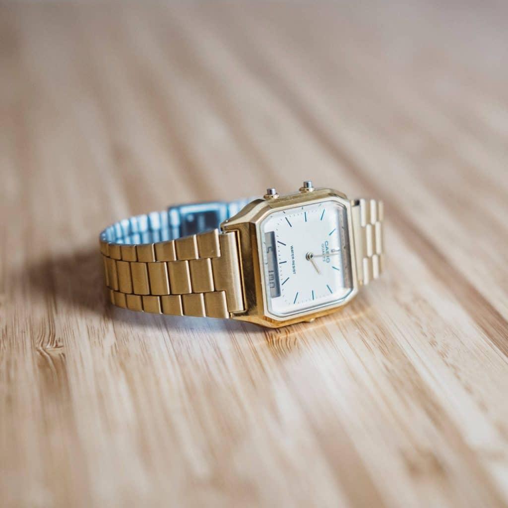 Casio vintage watch repair