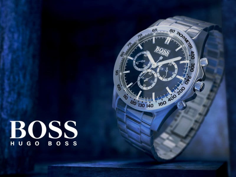 Hugo Boss watch restoration