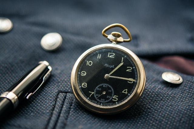 Repair pocket watch