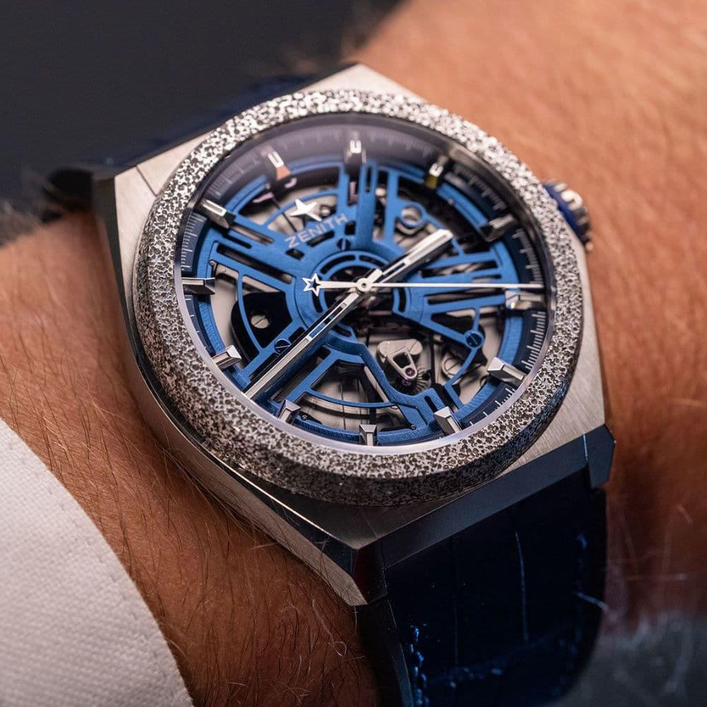 Newly serviced Zenith watch